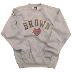 Brown Team Vintage Sweatshirt (Heather Grey) Brown University Sweatshirt – Education is important Vintage Crewneck Sweatshirt, Revival Clothing, College Hoodies, Crew Sweatshirts, Men Shirts, Crew Neck Shirt, The Victim, Vintage Outfits, Vintage Shirts