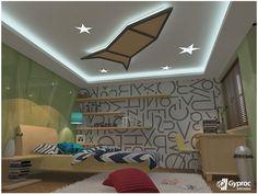 Adorable Kids Room Ceiling Designs