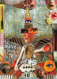 "Cut-n-Paste art journal page I started yesterday and finished just now using some of my papers and image pack collage sheets! Yes, the papers are totally printable for you to use in your art journals! :)   ""Movement"" by Nancy Baumiller ©2017 All Rights Reserved.  Creds:   Rhapsody Paper Pack: http://www.mischiefcircus.com/shop/product.php?productid=24307&cat=0&page=1  Steadfast - Digital Image Pack - Printable Collage Sheets Included…"