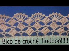 Bico de crochê lindooo ! #153 - YouTube