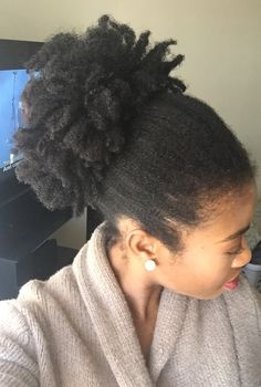 My 4c natural hair regimen