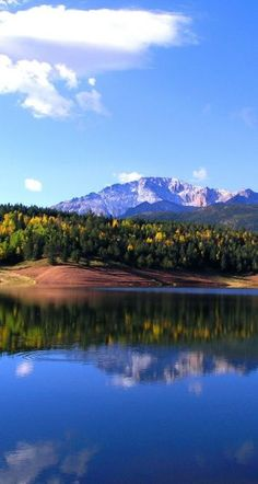 Crystal Reservoir - Pikes Peak, Colorado. This place was/is breathtaking!