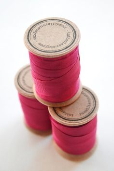 Rayon Binding Tape 1/2 Inch Wide 10 Yds Fuschia on by InTheClear, $3.65