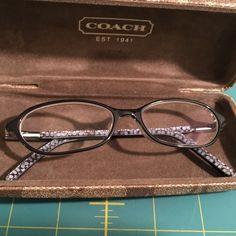 aafcddc2768e9 Coach Margaret blk crystal eyeglasses 50 135 Coach Margaret blk crystal  eyeglasses 50