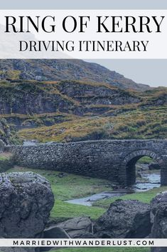 The Best Ring of Kerry Driving Itinerary #travel #ireland #europe #travelblog #ringofkerry