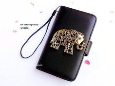 Samsung Galaxy S2 wallet  Elephant Samsung by iFashionAccessory, $17.98