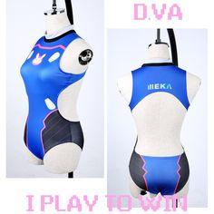 Overwatch D.VA DVA Swimsuit SD01231