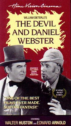 the devil and daniel webster author