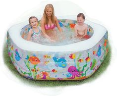 Kiddie Pool Or Birth Pool? You Decide. The DIY Alternative For Those  Wanting A