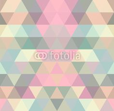 Wall mural mosaic triangle . geometric - mosaic • PIXERSIZE.com
