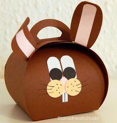 Schönes aus Papier Stampin Up Verpackung Curvy Keepsake Andenkenschachtel Hase Ostern