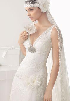 Vintage look ~ Rosa Clara 2014 Bridal Collection via Belle The Magazine