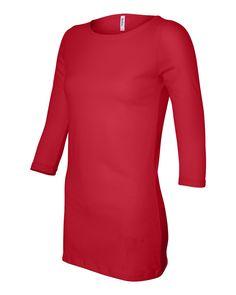 18c55b3b124 From Weiskamp for screen printing Bella - Ladies  Half Sleeve Boatneck  Jersey T-Shirt
