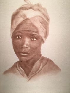 Enslaved child - nanny - c. 1855 - one of the collection Beloved: Legacy of Slavery by South Carolina artist, Mary Burkett.