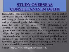 Study overseas consultants in delhi  Transglobal Overseas is an Abroad Education Consultants for NZ, Canada, UK has been seen as a tasteful amongst the best nation to the degree beneficial business open portals obliged its general understudies. It is an Overseas instruction Consultants in Delhi, New Zealand, Australia, UK Government has reliably been proceeding to Indian understudies and continually Scholarships are being given to the understudies who really expected that would concentrate…