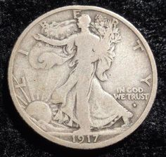 1917 d on Obv. Walking Liberty Half Dollar One of the harder dates in the series. The price jump to an is almost double. Ill even pay the shipping in the U. Layaway Available Visit Etsys best coin team. New members welcome. Ancient Egyptian Art, Ancient Aliens, Ancient Rome, Ancient Greece, Ancient History, Old Coins Value, Old Coins Worth Money, American Coins, Coin Worth