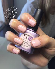 Gelpolish natural nail serenety color luxio  Top coat monails