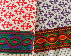 Check out this item in my Etsy shop https://www.etsy.com/listing/210343502/indian-cotton-fabric-by-the-yard-red-or