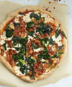Recipe:  The Tastiest Whole-Grain Pizza Crust — Food Processor Baking Recipes from The Weiser Kitchen