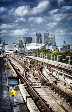 London from Docklands Light Railway