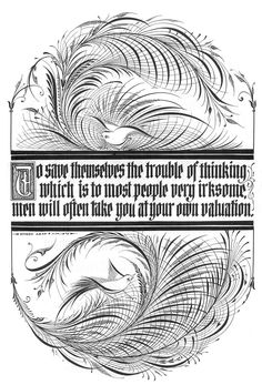 The Trouble of Thinking Shigeo Asao Flourish Calligraphy, Calligraphy Drawing, Caligraphy, Handwriting Analysis, Nice Handwriting, Quilt Labels, Penmanship, Letter Art, Book Of Shadows