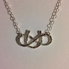 Sterling Silver Horseshoe Necklace, Good Luck Horse Shoe Necklace, Sterling Silver Horse Shoe , Lucky Necklace , Minimal Everyday Necklace on Etsy, $38.00