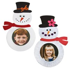 Snow photo frames that can be made from a die in the Teacher Resource Room,