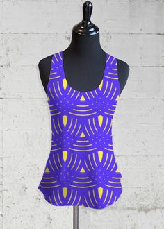 Printed Racerback Top - Pucciesque 1 by VIDA VIDA The Cheapest Online Cheap Extremely Cheap Release Dates Buy Cheap Deals bExatU