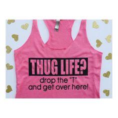 00d5867a02cfa Thug Life Hug Life Shirt   Valentine Shirts   Hug Dealer   Gift Idea    Valentine Gift   Quote on Tank Top   Women s Apparel