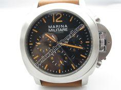 Marina Militare 44mm automatic orange markers hand - 44mm Marina Militare - Parnis watch station