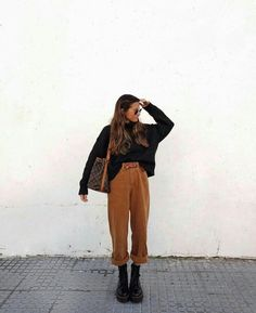 casual outfits for women / casual outfits ; casual outfits for winter ; casual outfits for women ; casual outfits for work ; casual outfits for school ; Spring Fashion Outfits, Casual Winter Outfits, Look Fashion, Autumn Fashion, Autumn Outfits, Casual Dresses, Hipster Fall Outfits, Street Fashion, Hipster Fall Fashion