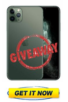iPhone 11 Pro Free Giveaway – Enter to win a brand new iPhone 11 Pro! Get your chance to win a brand new iPhone 11 Pro for free with this giveaway. Get it now, Don't miss this chance. Get Free Iphone, New Iphone, Get It Now, You Got This, Win Phone, Free Iphone Giveaway, Enter To Win, Phone Cases, Day