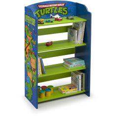 Delta Children Teenage Mutant Ninja Turtles Bookshelf - Walmart.com