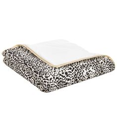 Perfect for keeping baby girls both warm and stylish, this Roberto Cavalli blanket is made in soft, comfortable cotton jersey and is padded for extra cosiness. It has a sophisticated snow leopard print with a shimmering gold trim and logo - the ultimate in baby girl cool, and can be used on the bed, in the car seat or stroller or as a comfortable surface for baby to lie on.