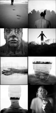 Analog and Experimental Black and White Photography. German photographer Florian Imgrund is fascinated by the unique charm of analog photographs connected