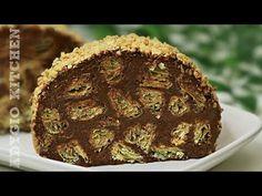 Rulada de vis cu ciocolata si alune - Reteta de rulada ciocolatoasa cu gust perfect! - YouTube Muffin, Breakfast, Cake, Mozaic, Food, Youtube, Recipes, Cook, Morning Coffee