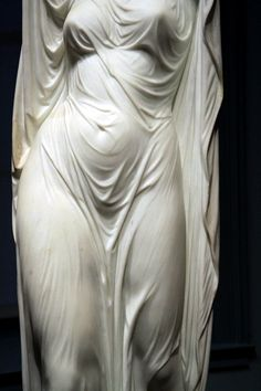 Chauncey Bradley Ives | Undine Rising from the Waters (detail) | 1880 | Marble