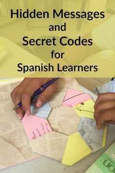 Secret messages are a fun writing and reading activity for Spanish learners. Try these secret codes, invisible ink and hidden messages in Spanish!