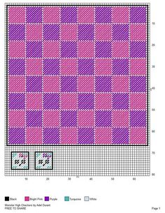 Monster High checkers