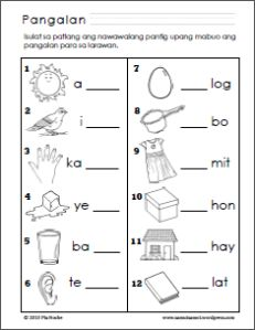 Filipino worksheets for Grade 1 1st Grade Reading Worksheets, Kindergarten Addition Worksheets, Grade 1 Reading, Reading Comprehension Worksheets, Kindergarten Fun, Preschool Worksheets, Printable Worksheets, Verb Worksheets, Learn Another Language
