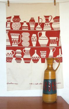 Designed by Skinny Laminx. Perfect print for a kitchen.