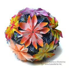 Kusudama Me! - Modular Origami Arnica unit