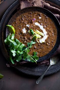 Dal Makhani (Buttery Lentils) via Sinfully Spicy