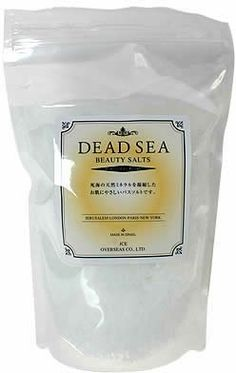 "DEAD SEA Beauty Salt (bath salt) by JCE OVERSEAS. $25.47. Size: 90 * Height Width Depth 176 * 288 (mm). Japanese retail packaging ( Manual and instruction, if any, are in Japanese only. ). Net weight: 1kg. ""DEAD SEA Beauty Salt (bath salt)"" is a Bath salts, which is kind to skin concentrating natural mineral from dead sea. Bath salt containing moisturizing magnesium chloride. Support in maintaining slim body in sauna effect. Keeps your skin moist and smooth."