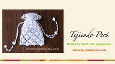 Paso a paso: bolsita para Primera comunión tejida a crochet (punto red ...