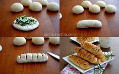 Peynirli Dilim Poğaça Tarifi