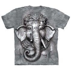 Big Face Ganesh Elephant T-Shirt