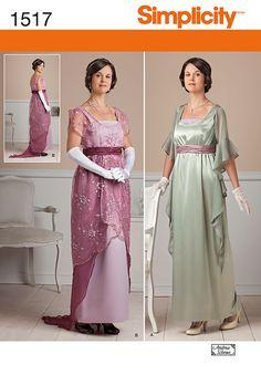 Simplicity Creative Group - Misses' Edwardian Style Dresses