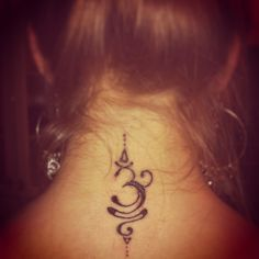 Hindu om tattoo. To bring peace and happiness                                                                                                                                                                                 Más