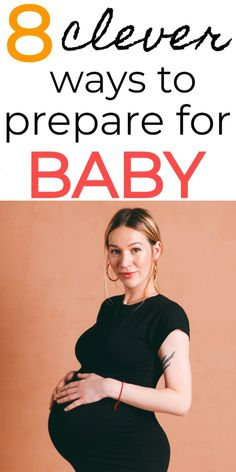 Preparing for baby tips for pregnant mamas! Genius ways to prepare for baby during pregnancy. Great 3rd trimester checklist! Things to do before baby arrives. #baby #pregnancy #momtobe #pregnant #thirdtrimester #babies #momlife #maternity #preparingforbaby #newmom #3rdtrimester
